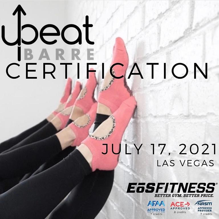 EoS Las Vegas Barre Certification