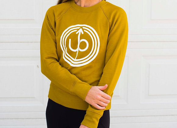 Pulse Ultra Soft Sweatshirt in Yellow Gold