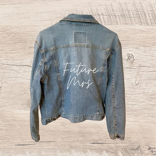 One of a Kind Vintage Levi's Denim Jacket - CUSTOMIZABLE