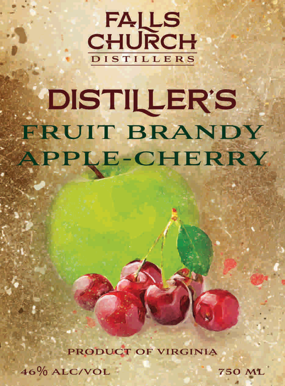 Distiller's Apple-Cherry Brandy