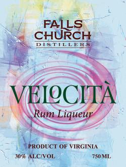 Velocita Rum Liqueur