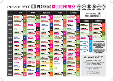 Planet Fit - Planning Studio Fitness 202