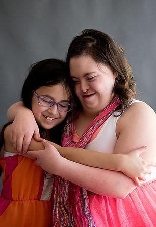 Zofia and a friend