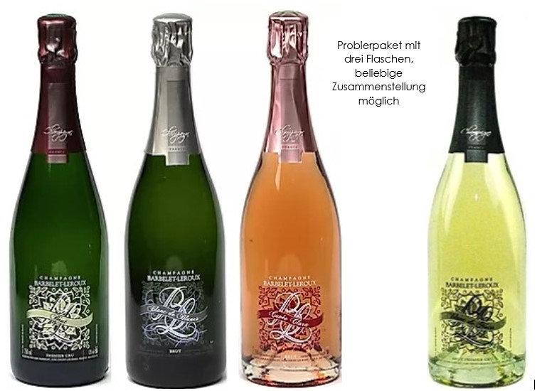 Probierpaket 3: Champagne