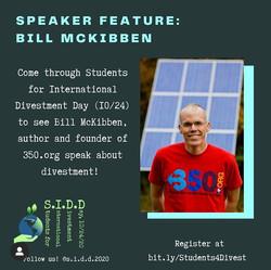 Bill McKibben, author & activist