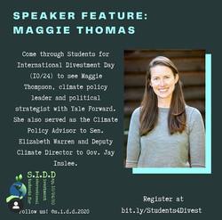 Maggie Thomas, Yale Forward