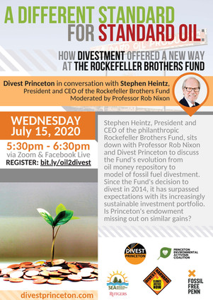 How Divestment Offered a New Way at the Rockefeller Brothers Fund with Stephen Heintz