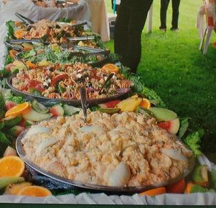 Caterer Chaplin Catering salad buffet