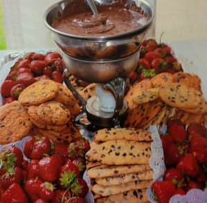 Chaplin Catering Chocolate Dip