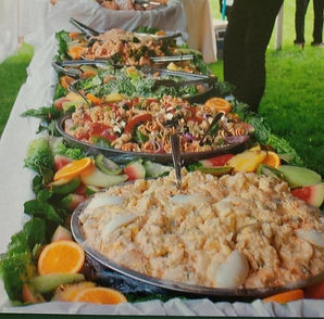 Chaplin Catering Buffet Table