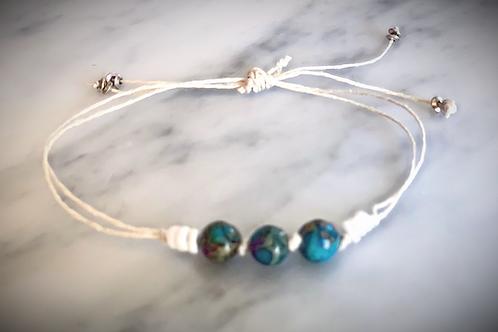 Hemp cord bracelets