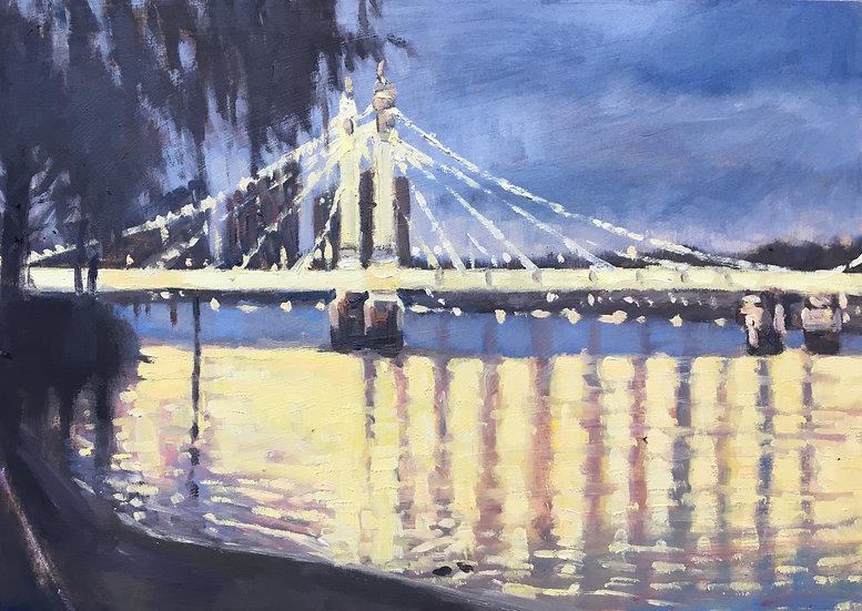 Albert Bridge nocturne