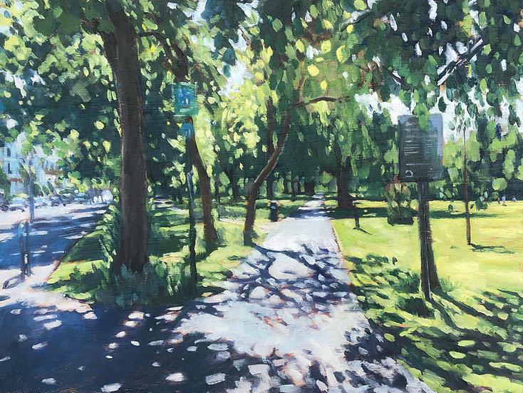Empty path, Wandsworth Common