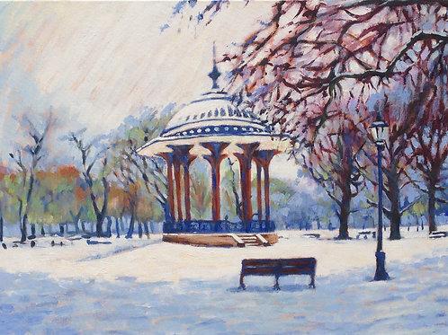 The common in winter