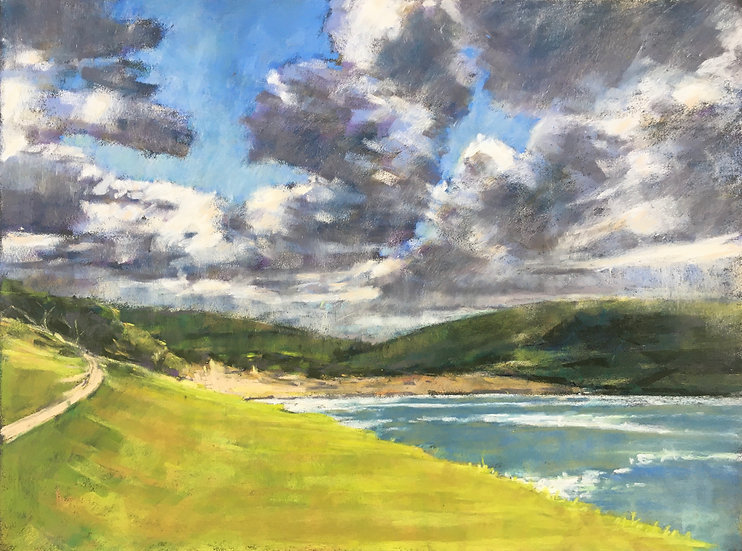 Approach to Daymer Bay