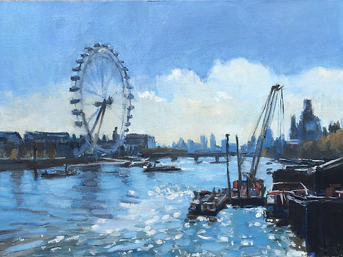 Sunlight on the Thames