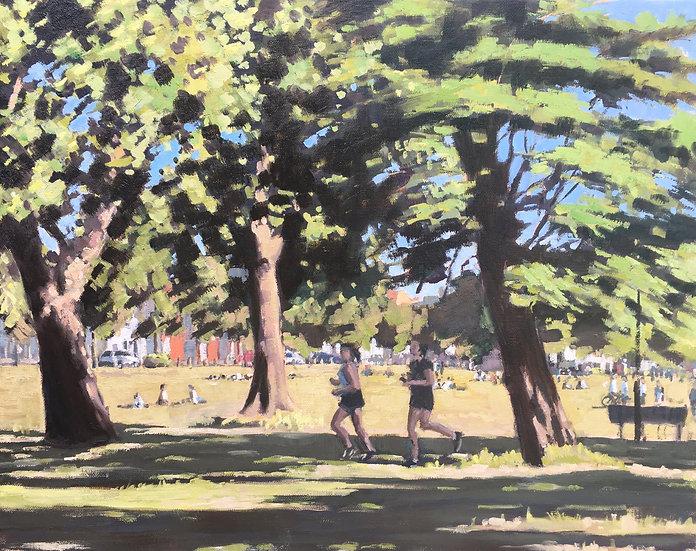 Wandsworth Common on furlough