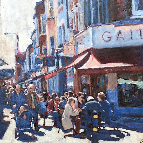 Busy corner, Northcote Road