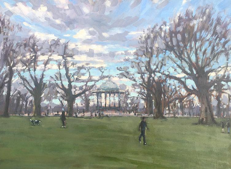Winter on Clapham Common
