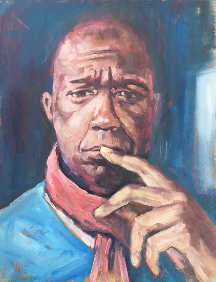 Portrait of Clive Myrie