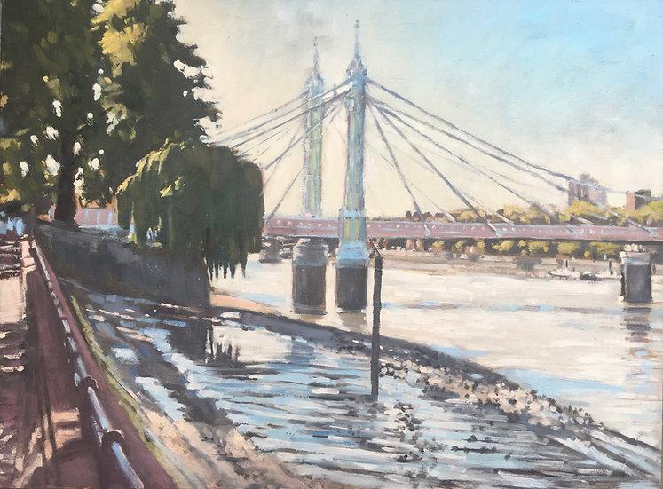 Last day of summer, Albert Bridge