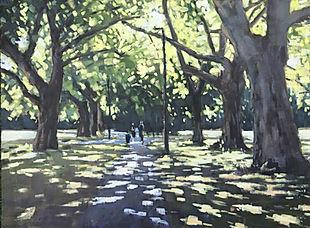 Shady path, Wandsworth Common