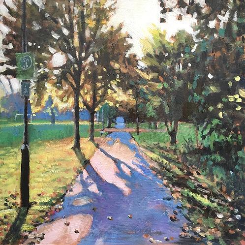 Wandsworth Common path