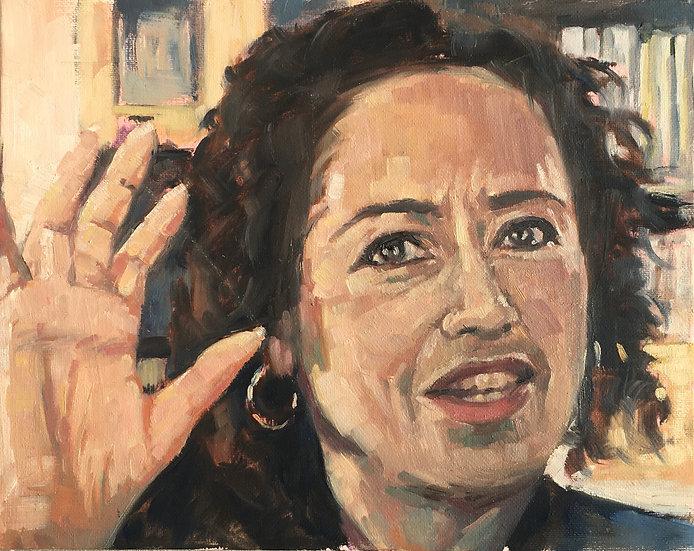 Portrait of Samira Ahmed
