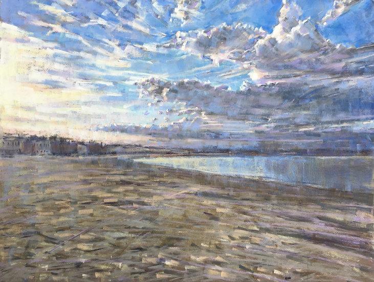 Evening light over Weymouth