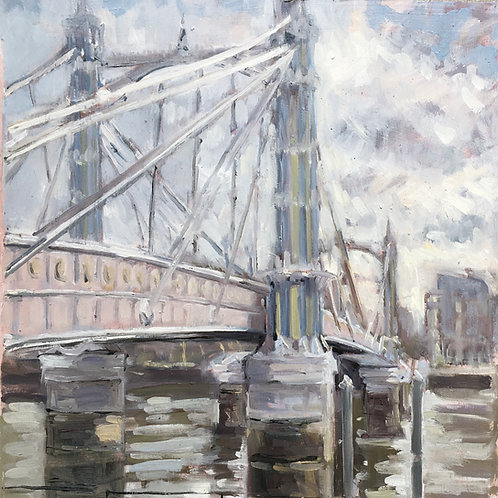 Albert Bridge winter light