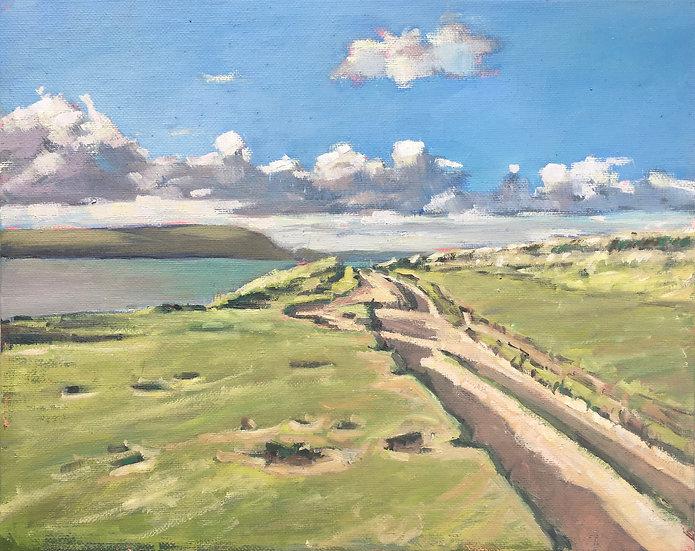 Coastal path from Daymer Bay to Polzeath