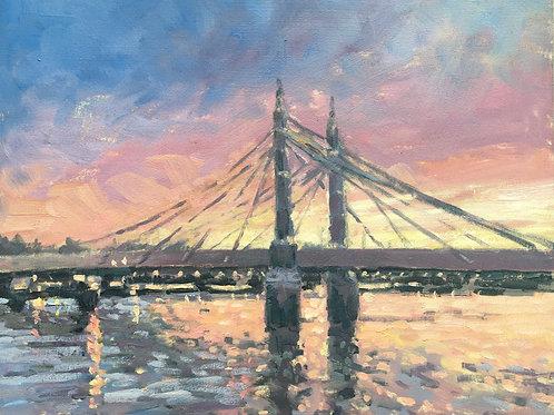 Albert Bridge sunrise