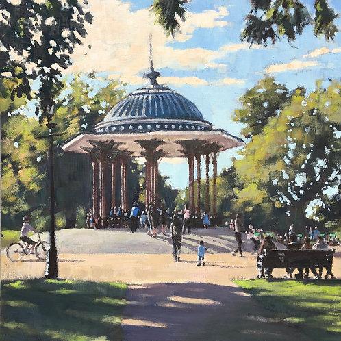 Last day of summer, Clapham Common
