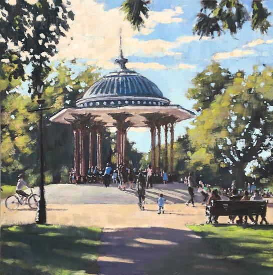 Last days of summer, Clapham Common