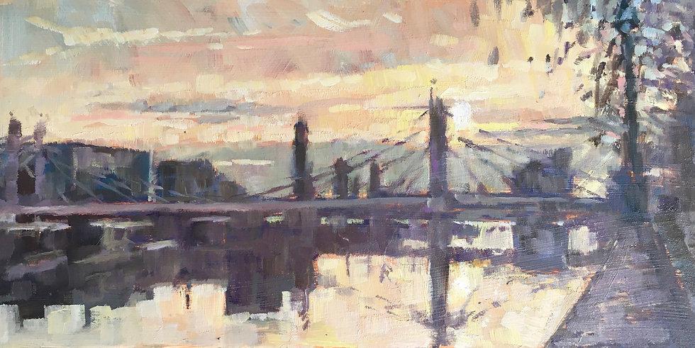 Sunset at Albert Bridge