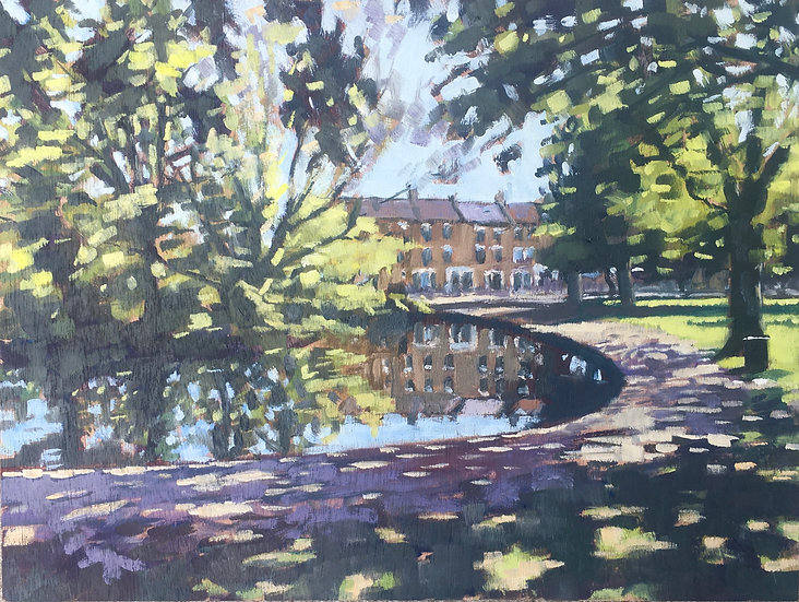 Wandsworth Common pond