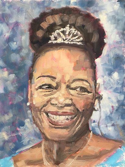 Portrait of Floella Benjamin