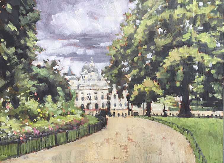 St James Park looking towards Horse Guards