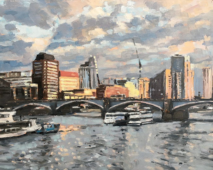 Lambeth Bridge and London