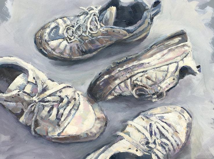 Lockdown landscape III - family shoes