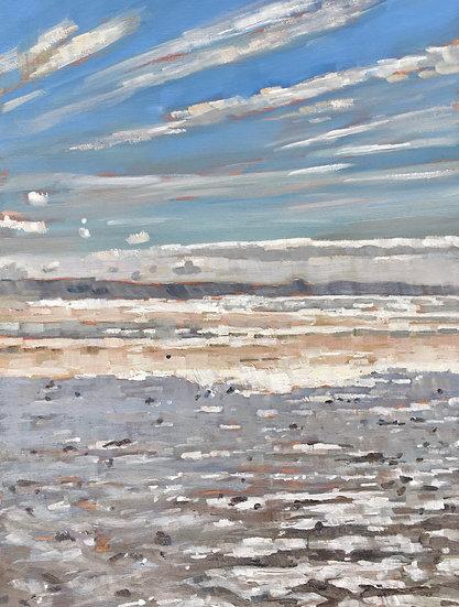 Ebb tide, Watergate Bay