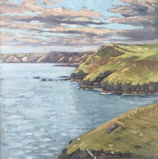 Fading light, North Cornwall