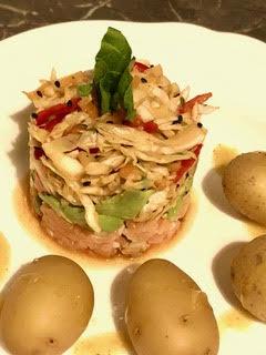 Fish Avocado Tartar