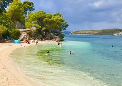 Slano beach