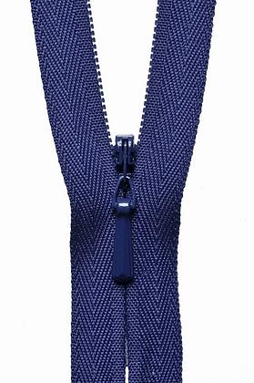 Concealed Zip - Purple