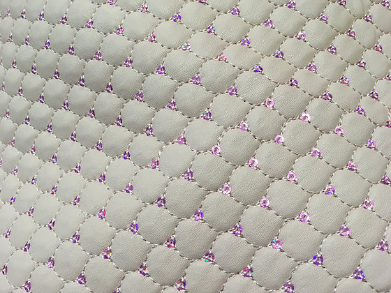 Quilted Leatherlook PVC