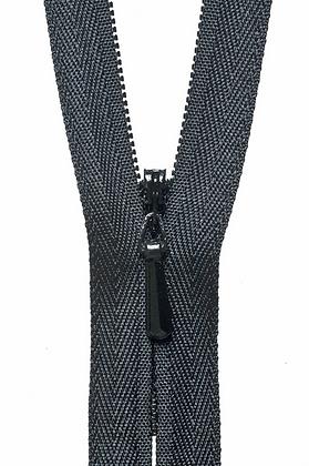 Concealed Zip - Black