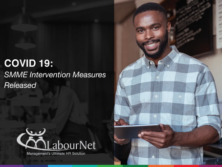 COVID-19: SMME Intervention Measures Released