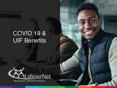 COVID-19 & UIF BENEFITS