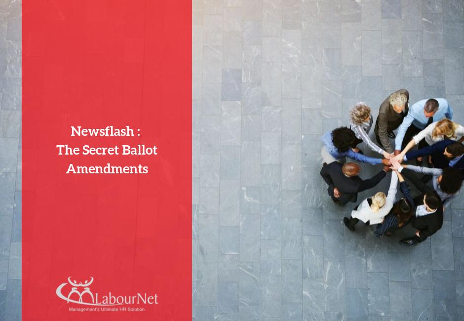 The Secret Ballot Amendment